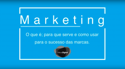 Sabe o que é o Marketing