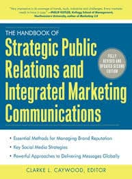 "Livro: ""The Handbook of Strategic Public Relations and Integrated Marketing Communications"" de Clarke L. Caywood"