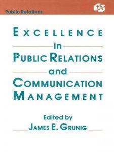"Livro: ""Excellence in Public Relations and Communication Management"" editado por James E. Gruning"