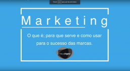Sabe o que é o Marketing?